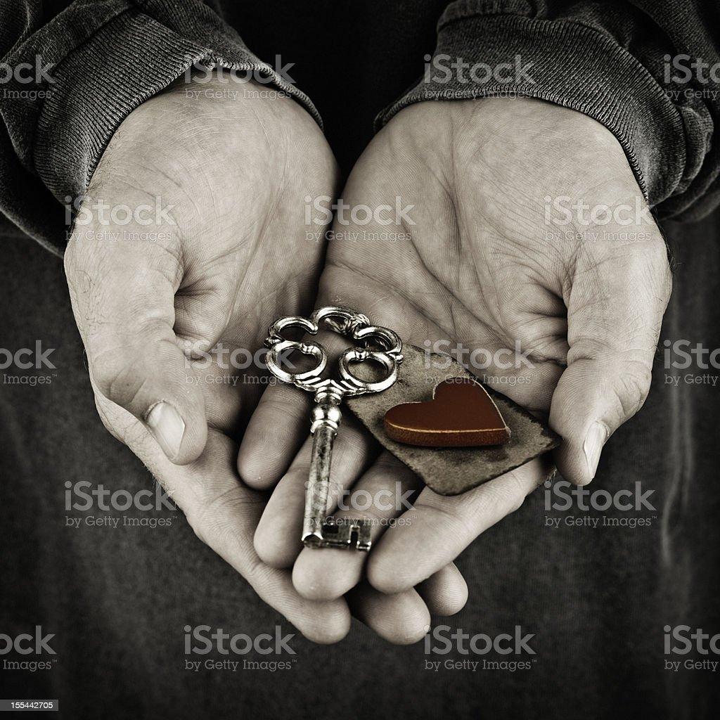 Key To My Heart stock photo