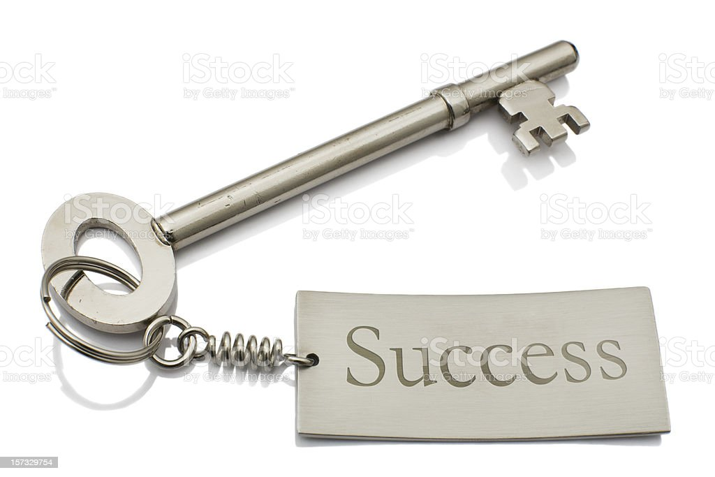 Key to success royalty-free stock photo