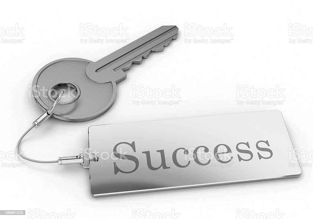 Key to success royalty-free stock photo