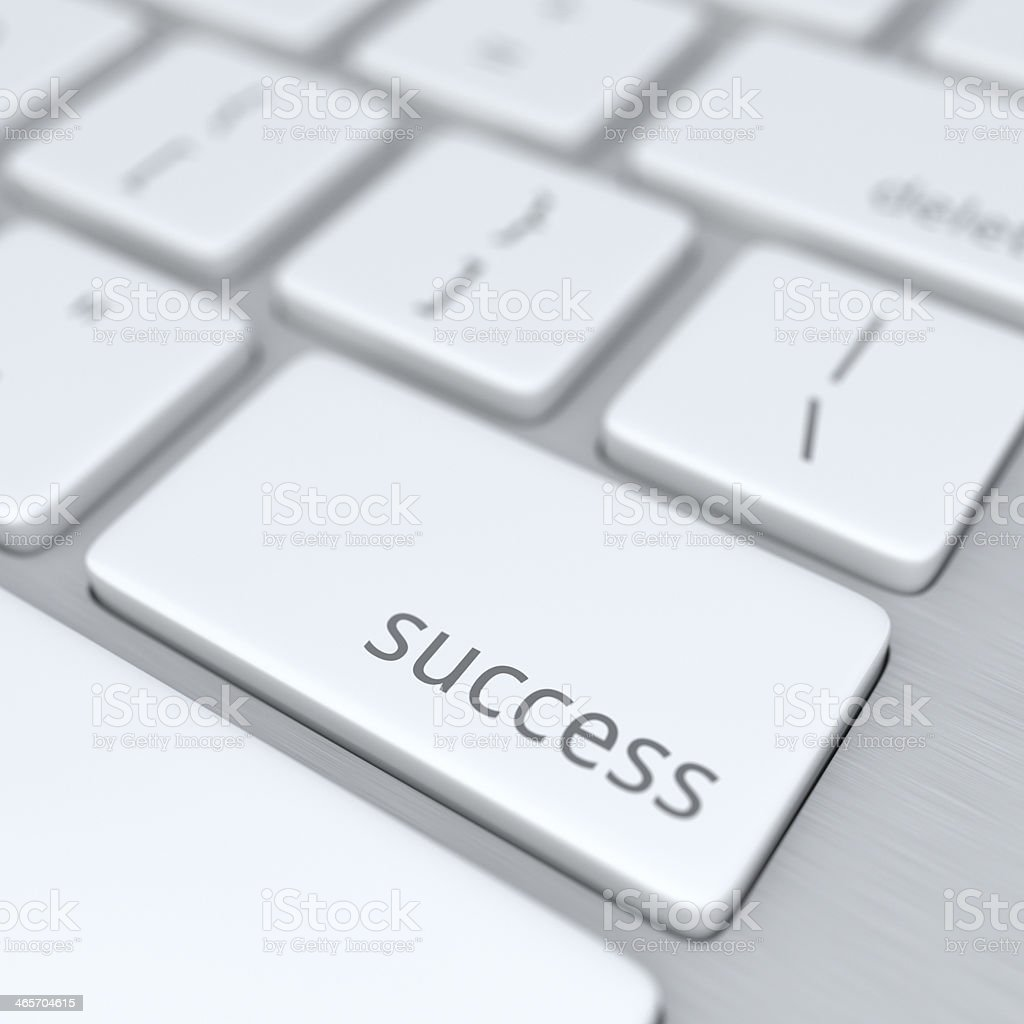 Key to Success XL+ royalty-free stock photo
