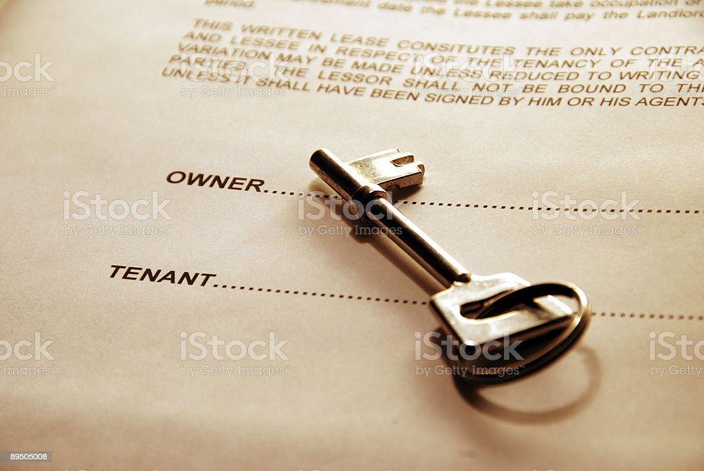 key to the door stock photo