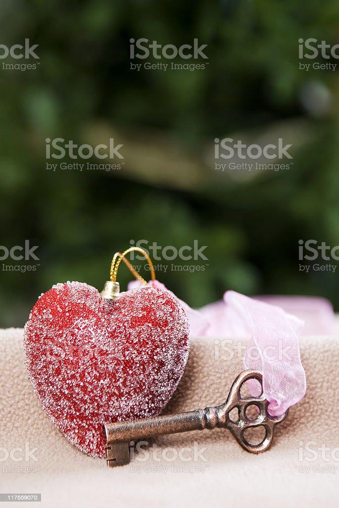 Schlüssel zu Ihrem Herzen Lizenzfreies stock-foto