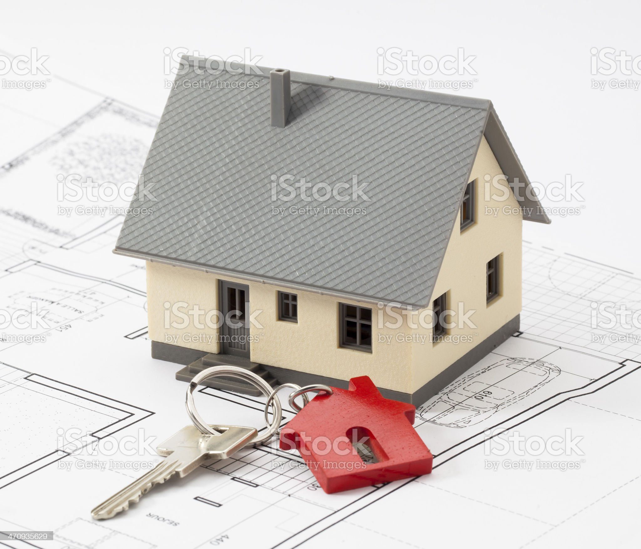 key to your new residential project royalty-free stock photo