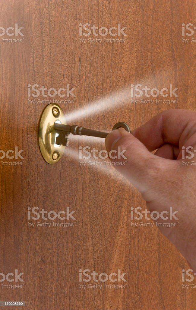 key unlocking door to stock photo 176008660 istock