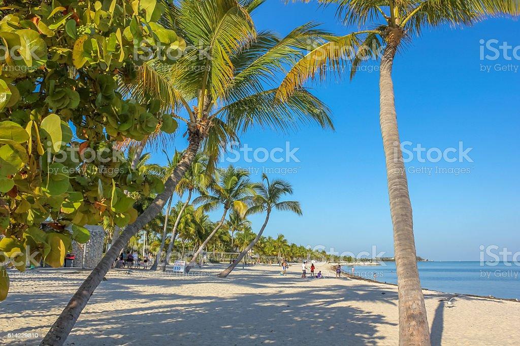 Key West beach holidays stock photo