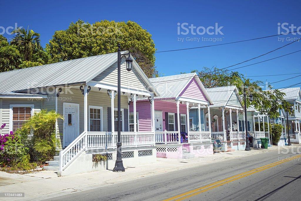 Key West Florida Keys royalty-free stock photo