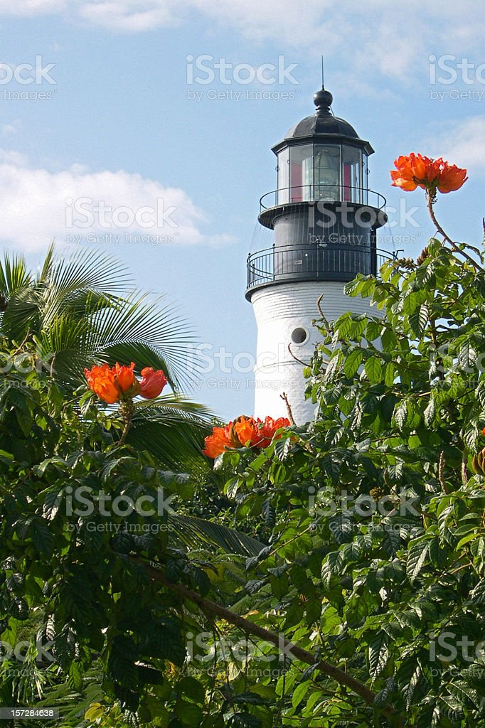 Key West Lighthouse stock photo