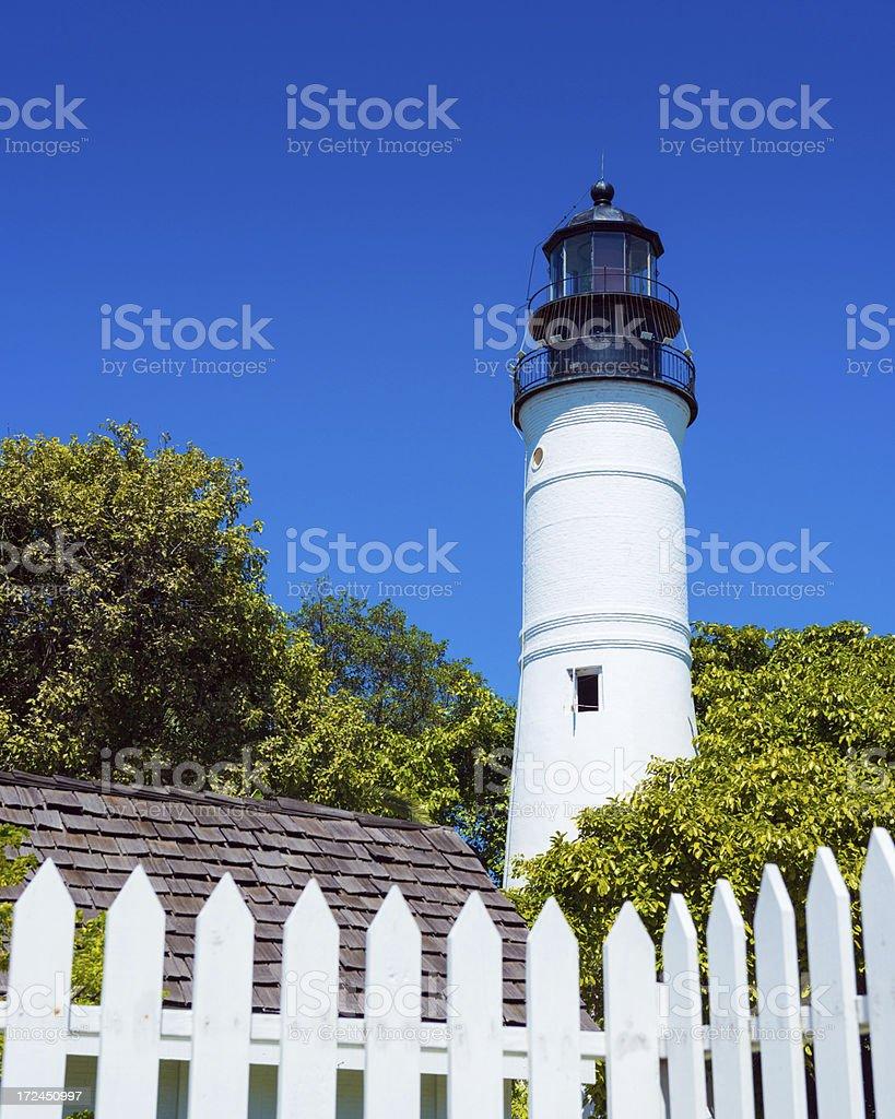 Key West Lighthouse royalty-free stock photo