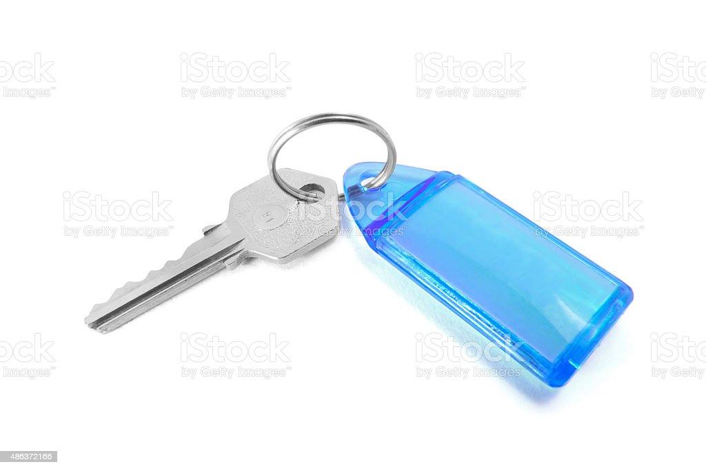 Key with Key Ring stock photo