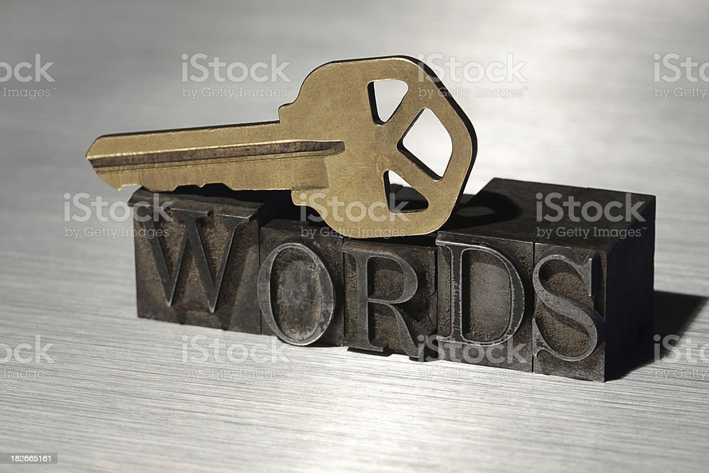 Key Words royalty-free stock photo