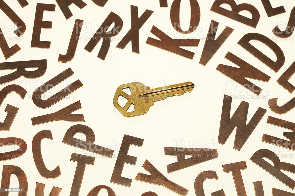 Key Words stock photo