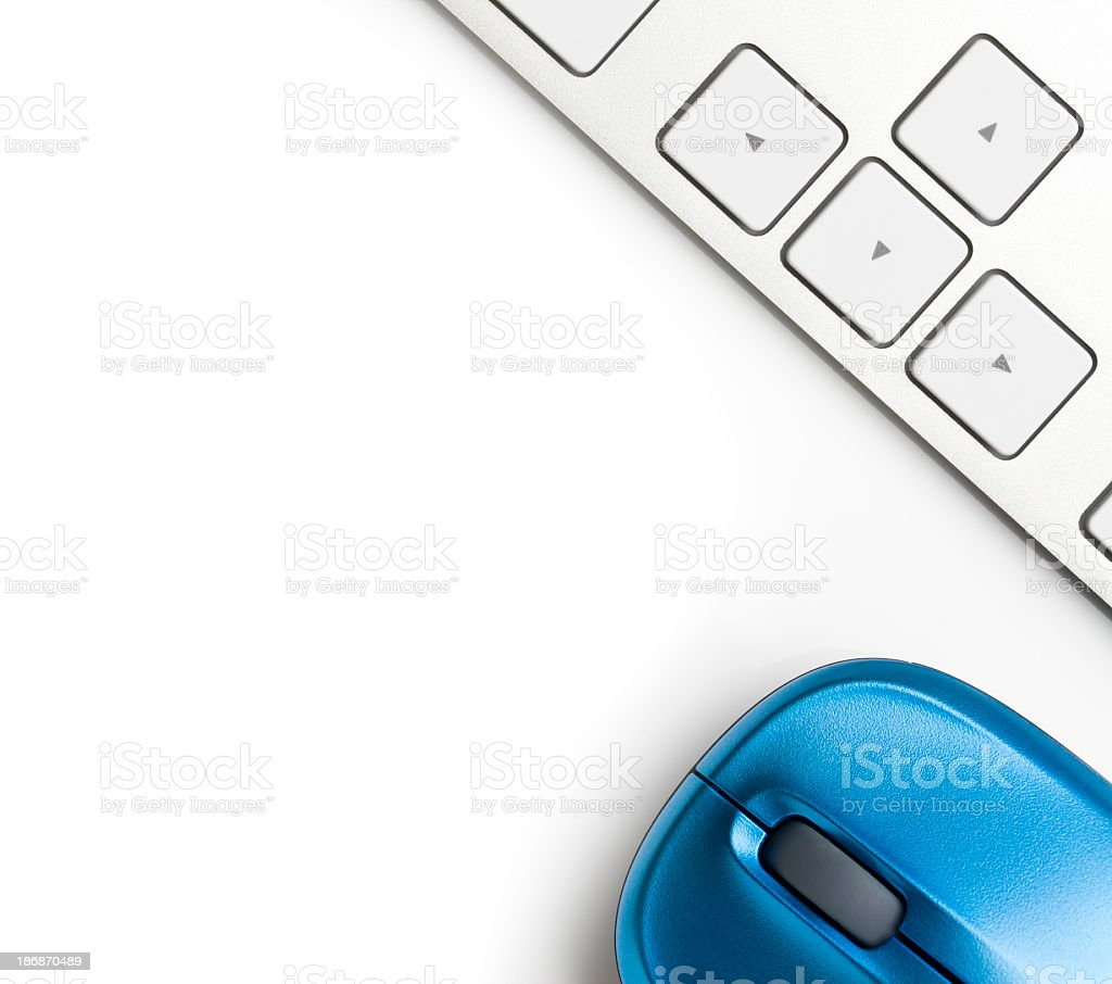 Keyboard and Mouse stock photo