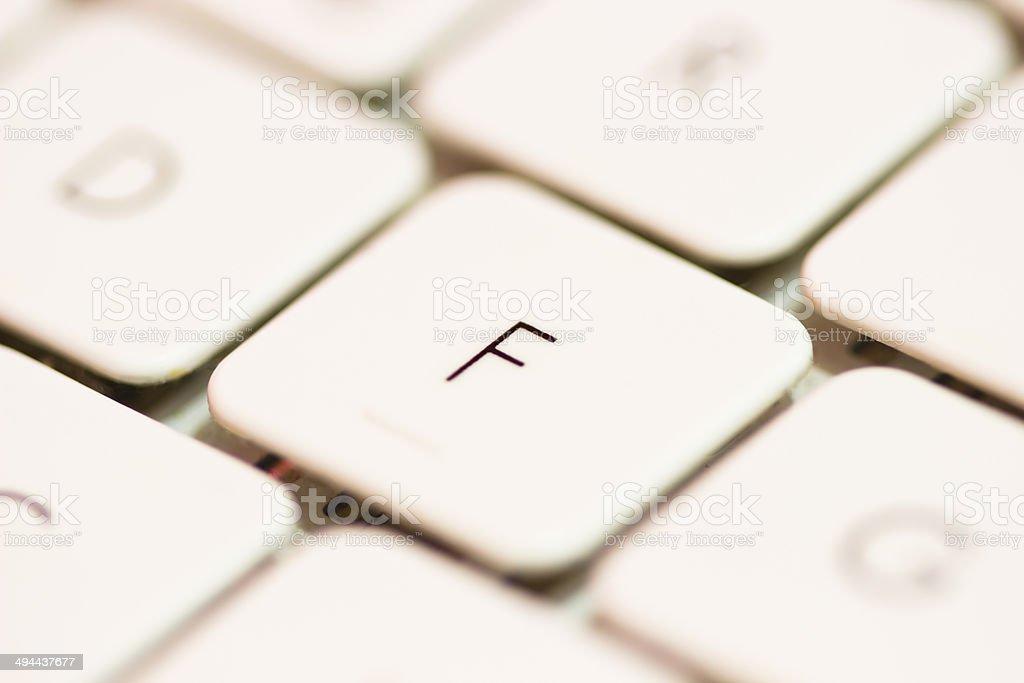 Keyboard Background stock photo
