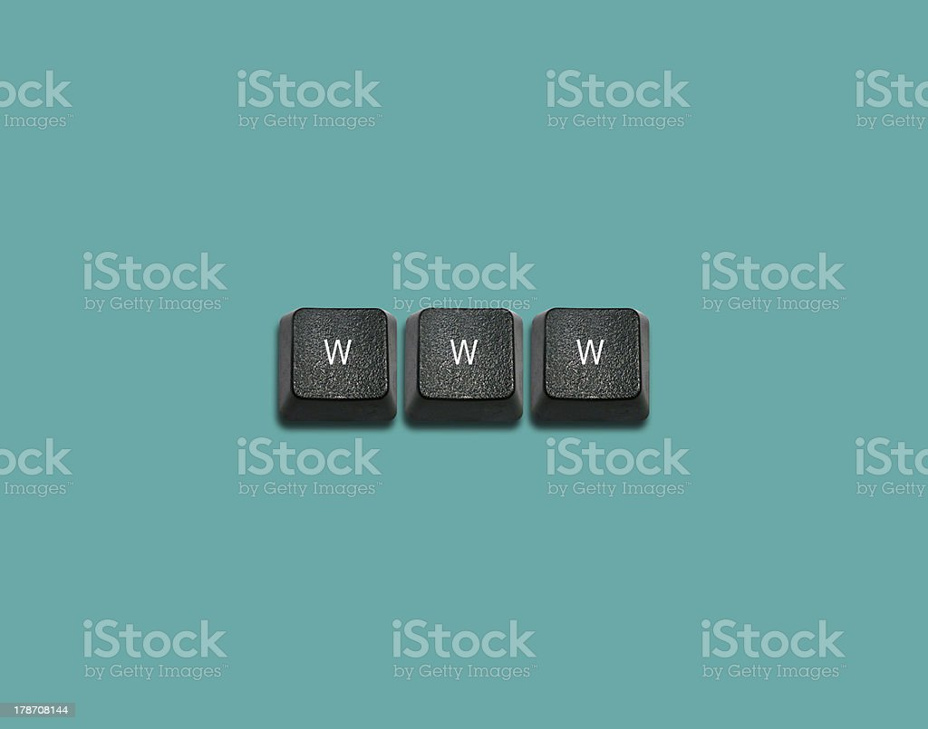 keyboard buttons Idea royalty-free stock photo