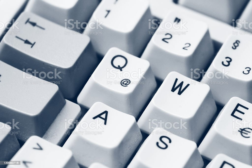 Keyboard buttons royalty-free stock photo