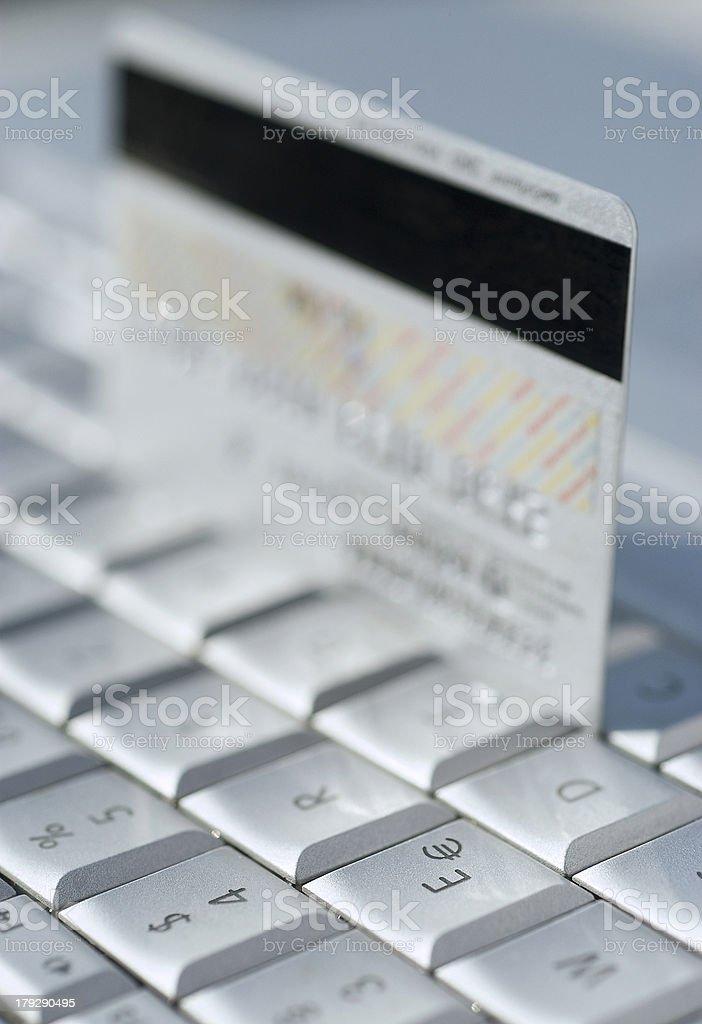 keyboard card royalty-free stock photo