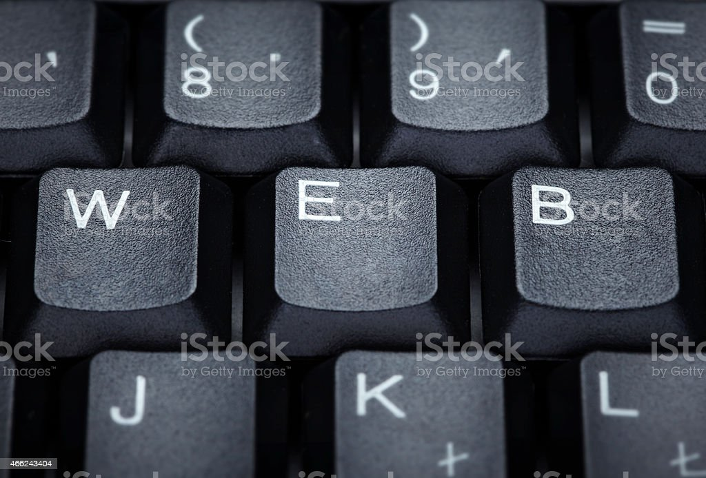 keyboard computer letter word web techniology stock photo