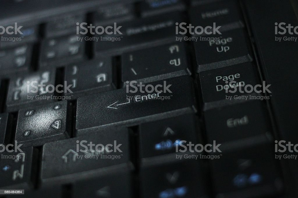keyboard computer. stock photo