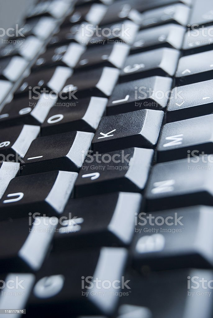 Keyboard detail royalty-free stock photo