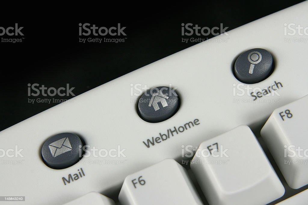 Keyboard icons hotkeys royalty-free stock photo