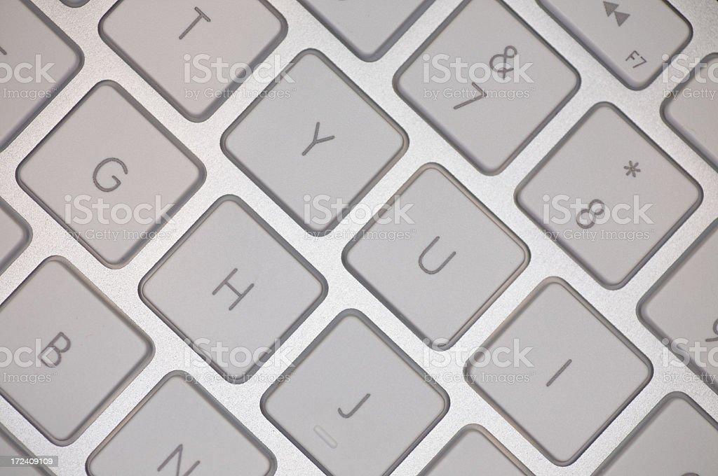 Keyboard Macro D stock photo