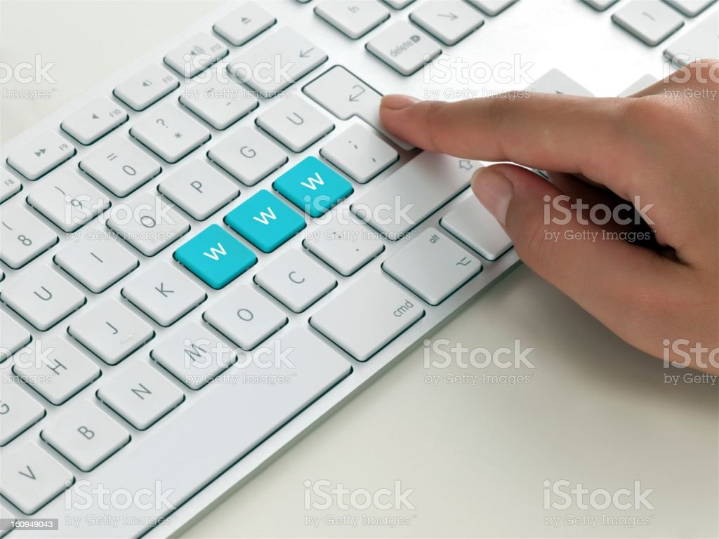 keyboard message royalty-free stock photo