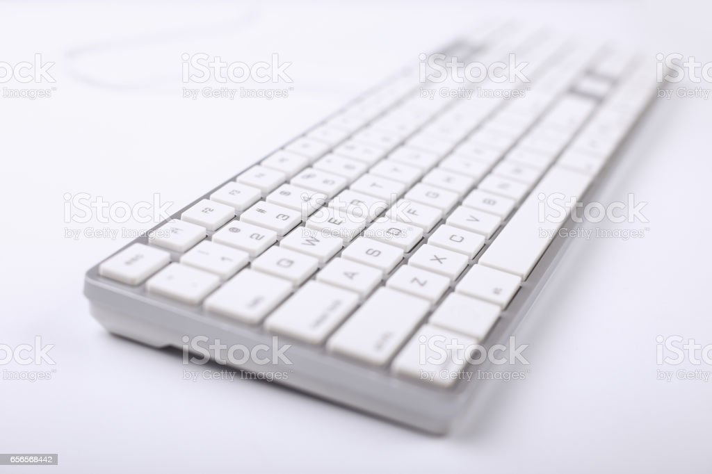 Keyboard Of Computer stock photo