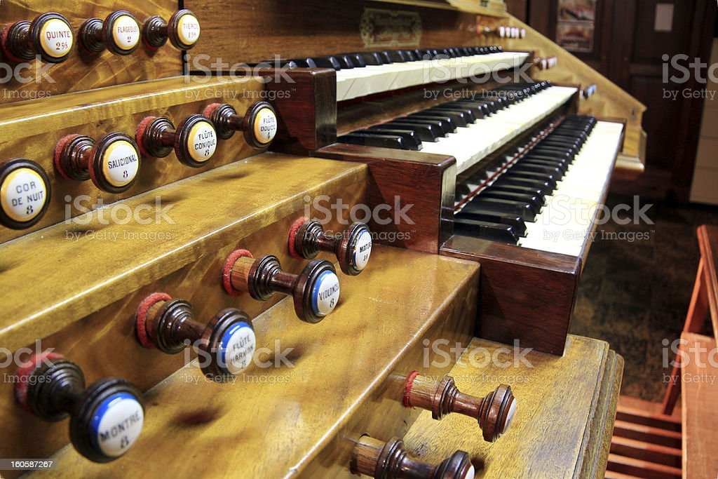Keyboard Organ royalty-free stock photo