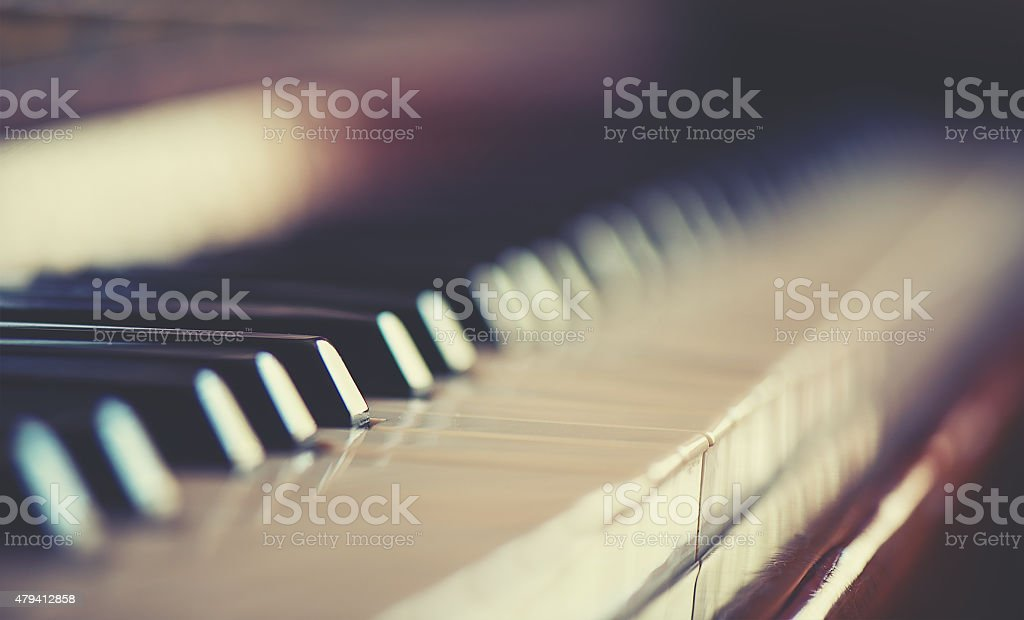 keyboard piano stock photo
