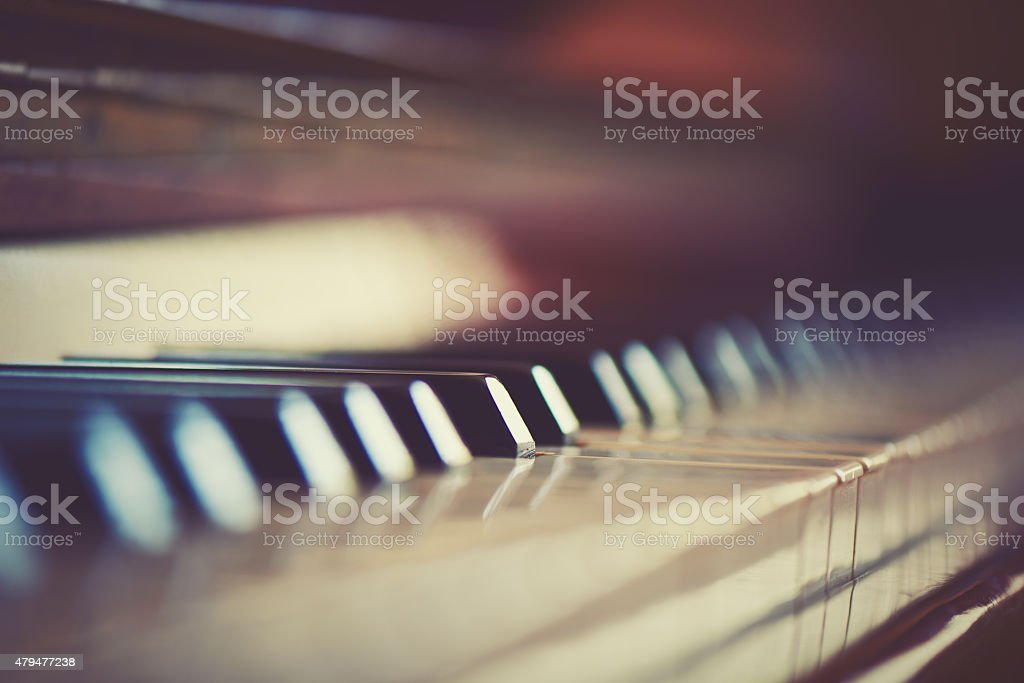 keyboard piano stock photo