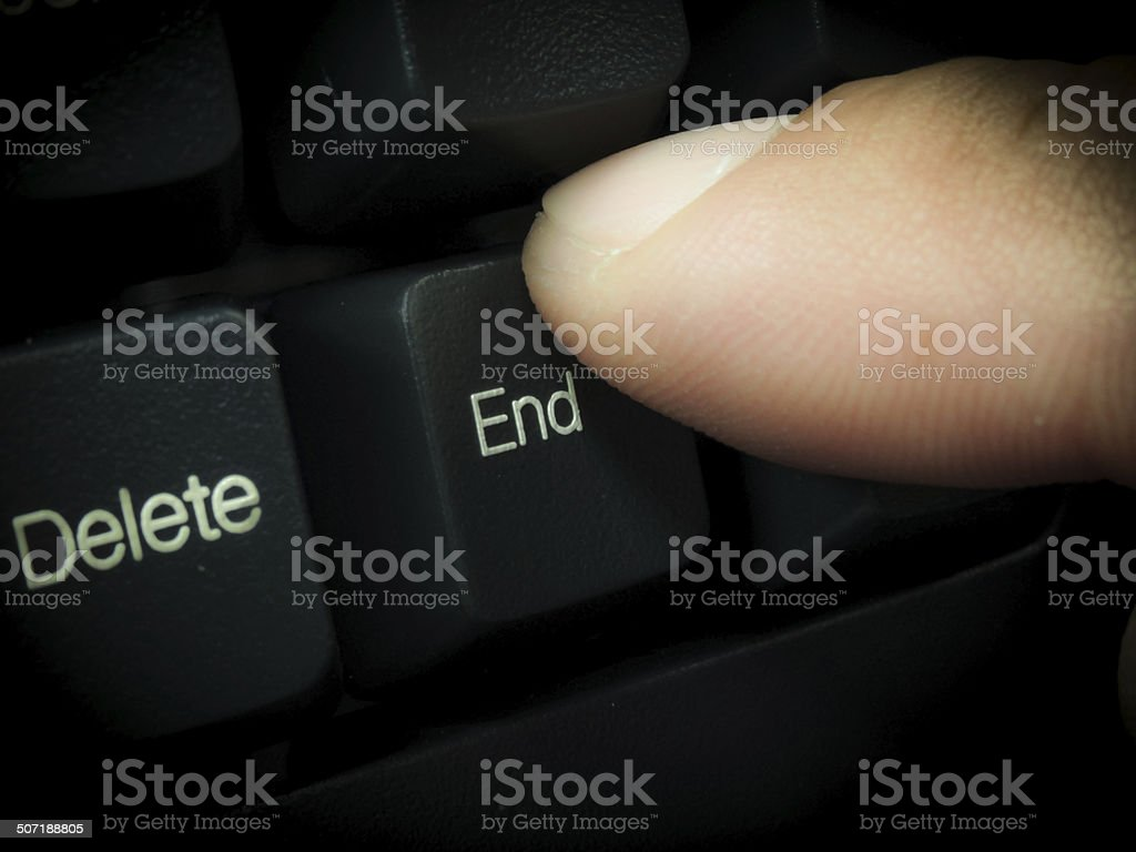Keyboard stock photo