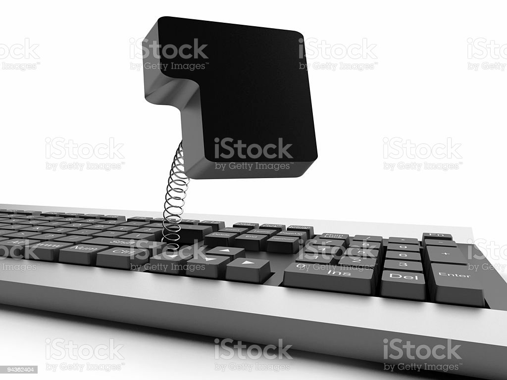 Keyboard royalty-free stock photo