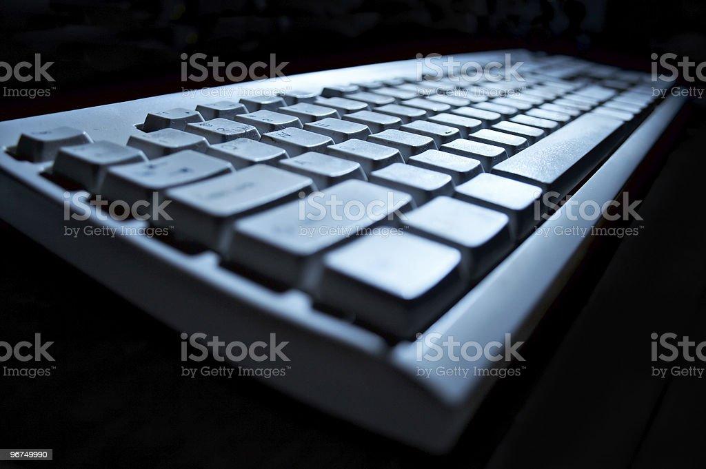 keyboard royalty-free stock photo
