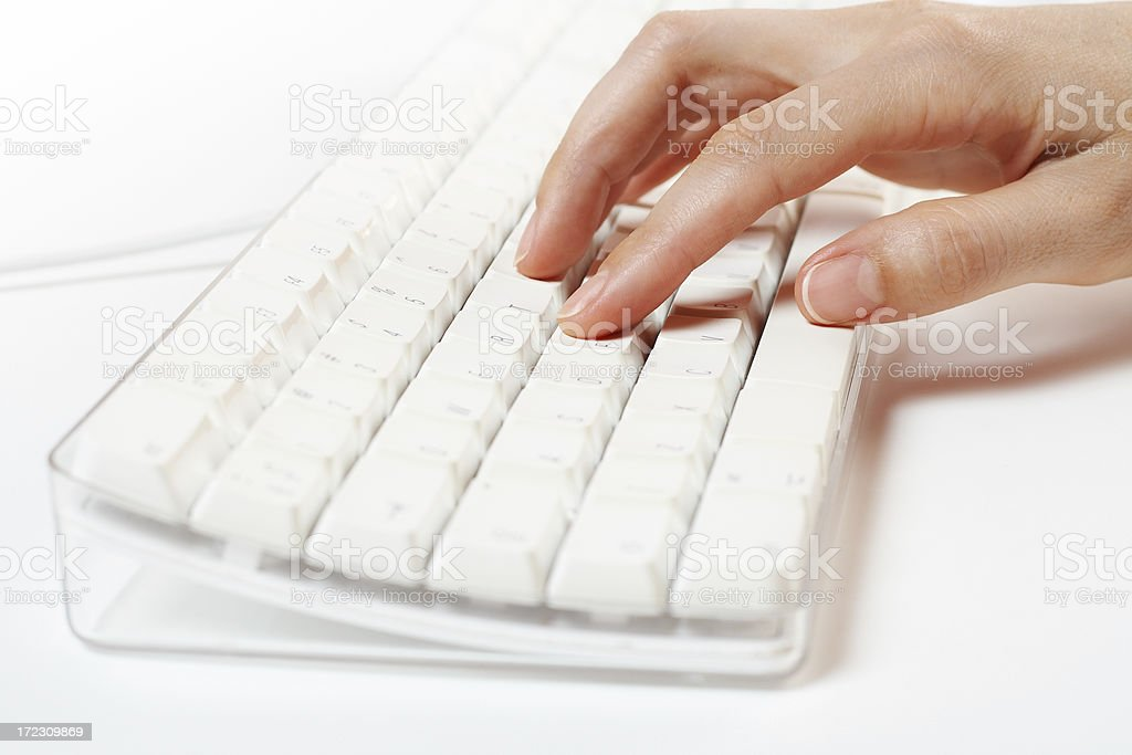 Keyboard series royalty-free stock photo