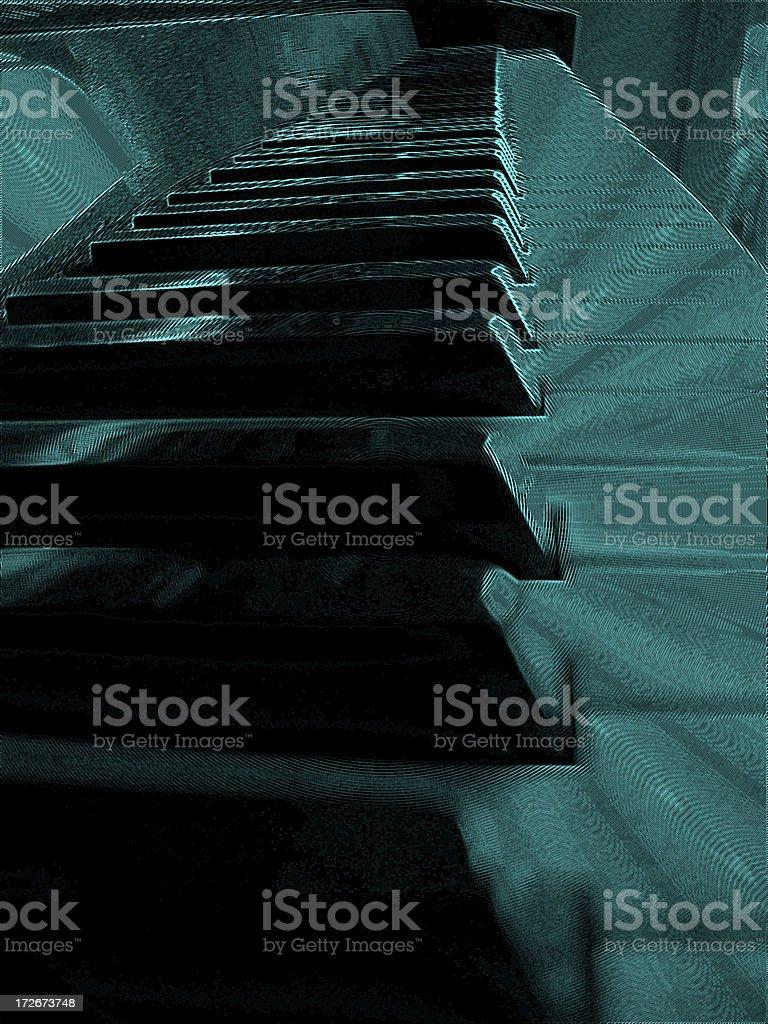 Keyboard vibration royalty-free stock photo