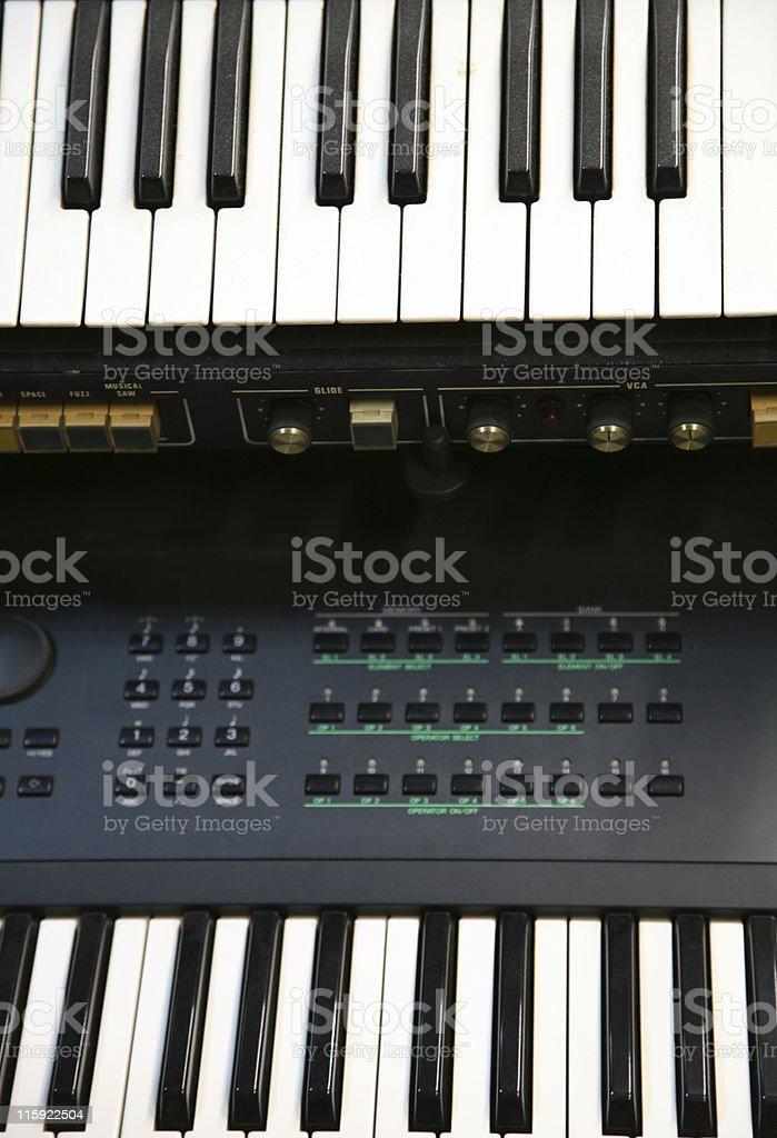 Keyboards stock photo