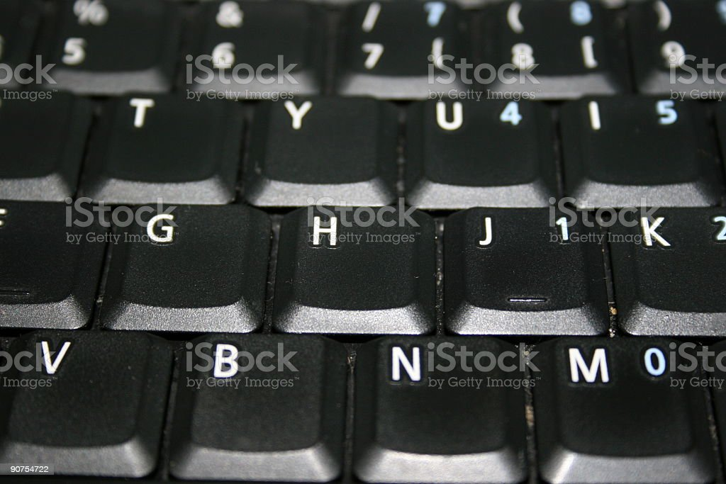Keybord royalty-free stock photo
