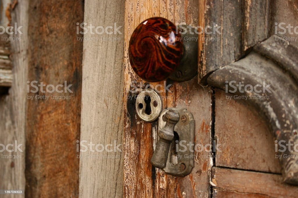 Keyhole, royalty-free stock photo
