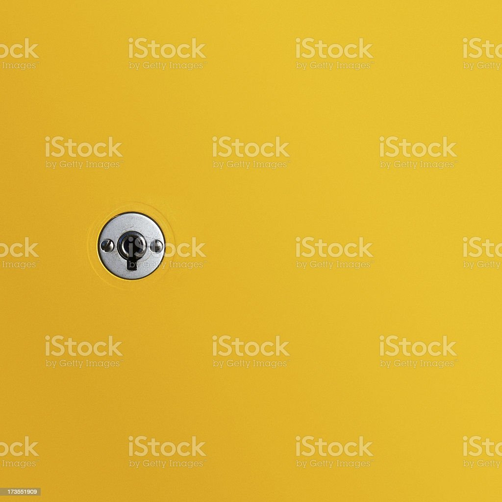keyhole stock photo