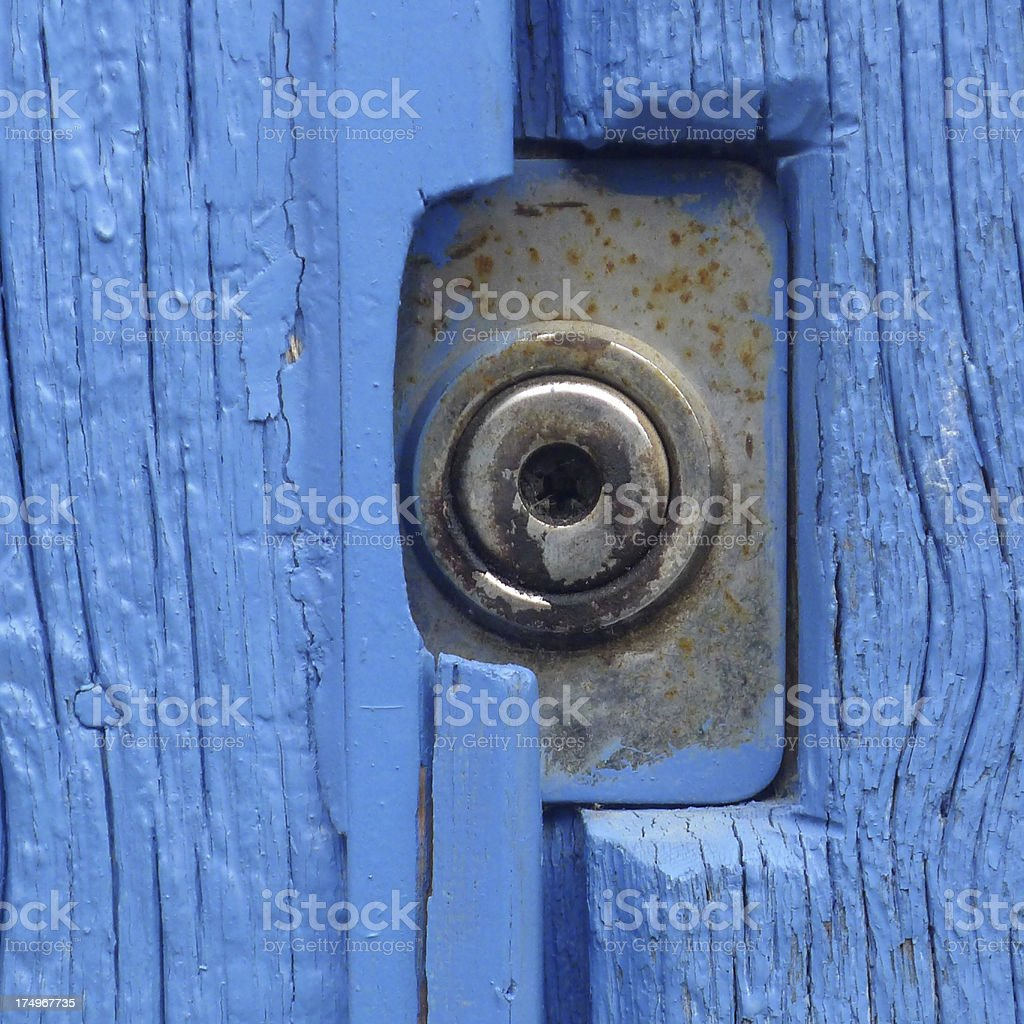 Keyhole royalty-free stock photo