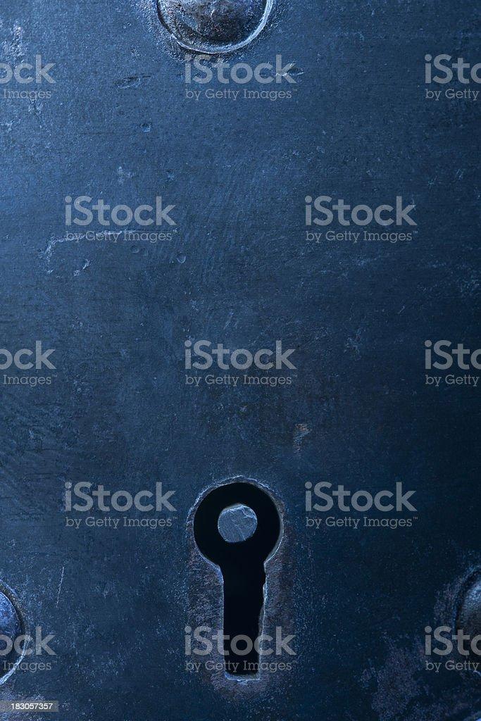 Keyhole stock photo