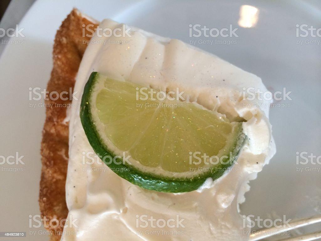 Keyl ime pie stock photo