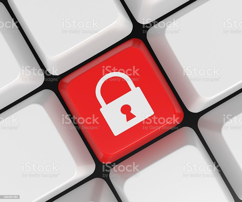 Keypad Lock royalty-free stock photo
