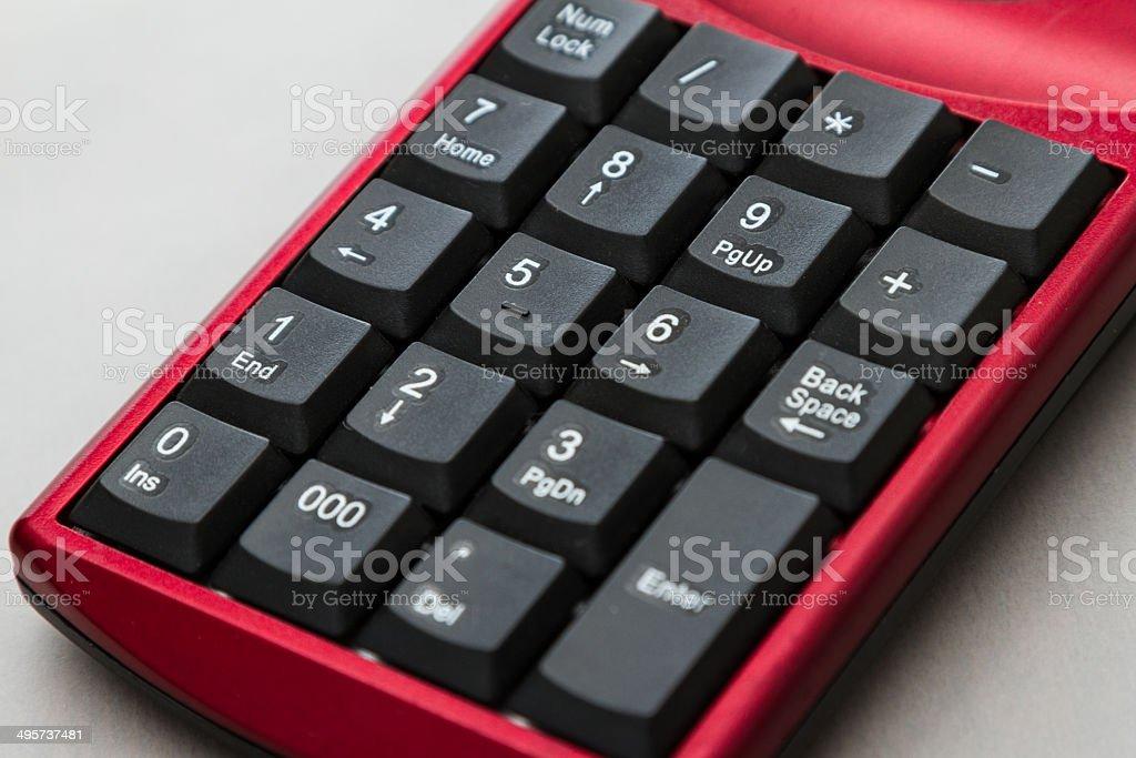 keypad royalty-free stock photo