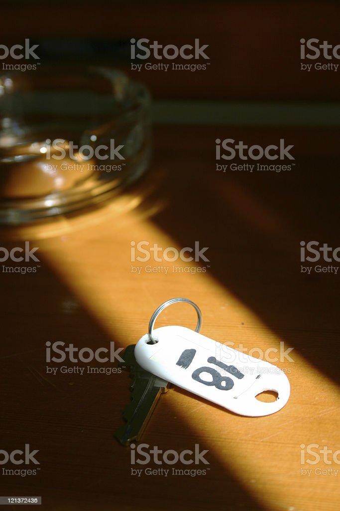 Keys at Hotel royalty-free stock photo