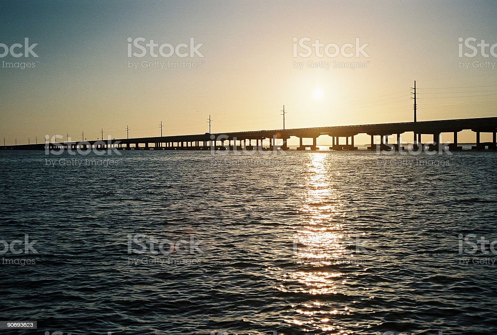 Keys Bridge royalty-free stock photo