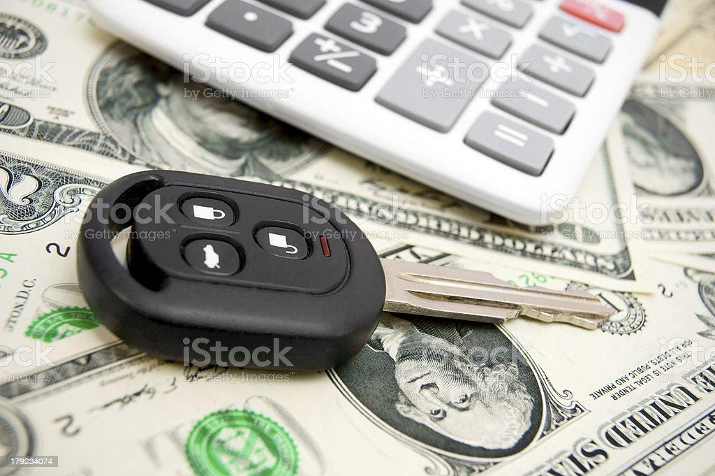 Keys car. royalty-free stock photo