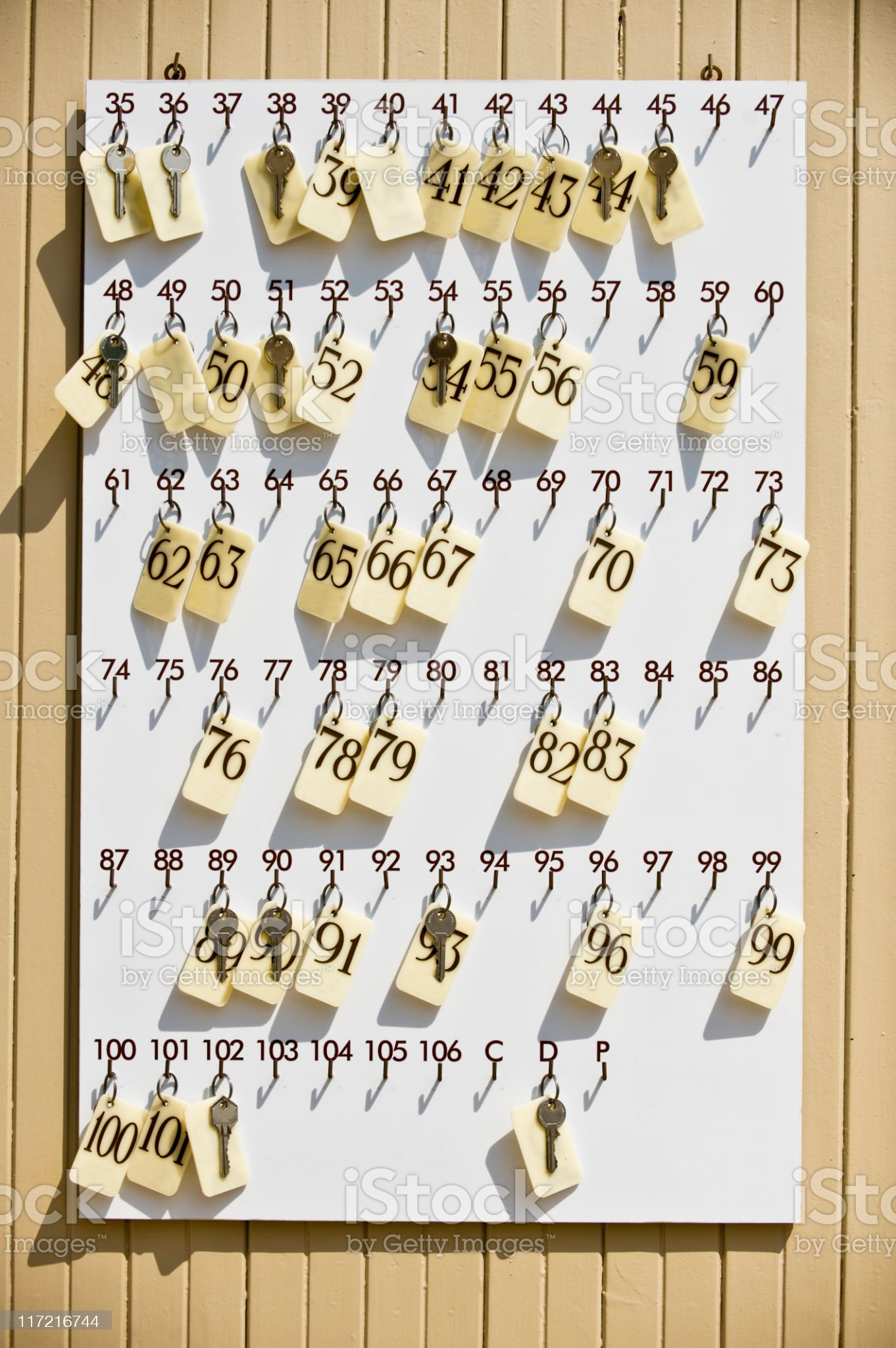 Keys. Color Image royalty-free stock photo