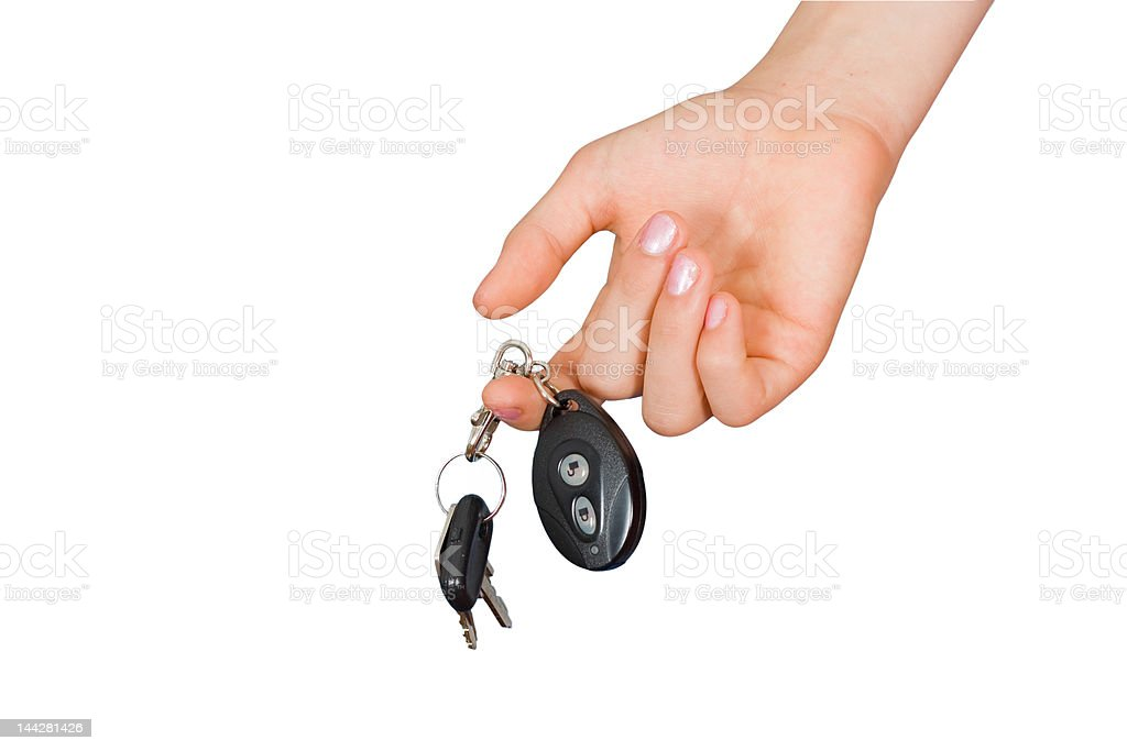 Keys from the machine royalty-free stock photo