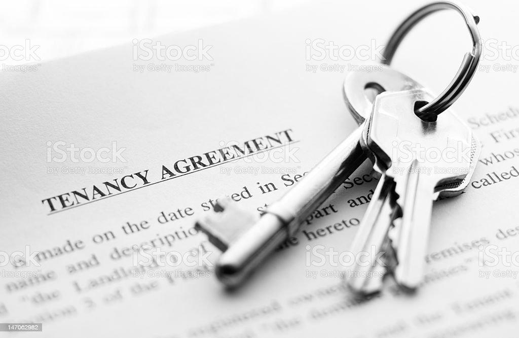 keys on document royalty-free stock photo